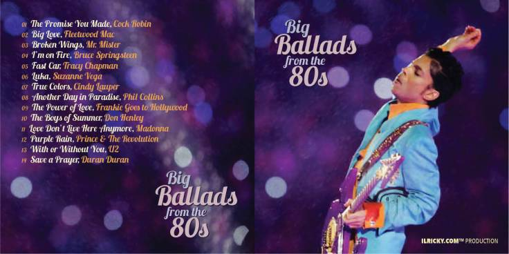Cover Big Ballads from the 80's