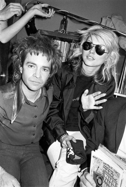 Rodney and Debbie Harry