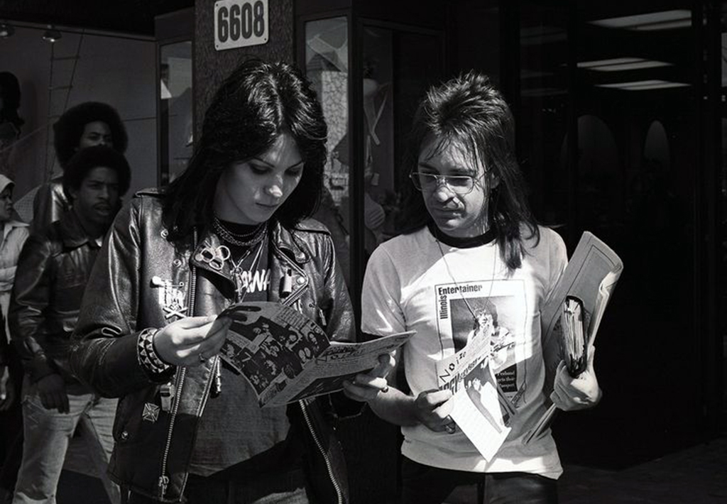 Rodney and Joan Jett