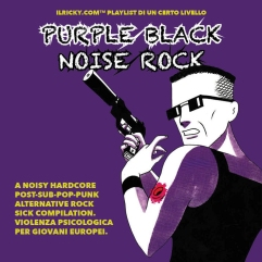 Purple Black Noise Rock