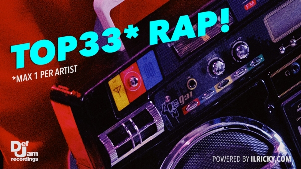 Cover Top 33 Rap